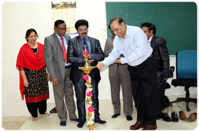 <b>A Report on Student Council Installation Ceremony - Lightening of Samai  by the Chief Guest Brig. (Retd) Dr. Ramen Sinha, Principal, Sri Sai Dental College Vikarabad, on 11 Jan 2018</b>
